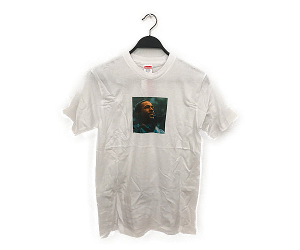 #Supreme/T-Shirt/S/Cotton/WHT
