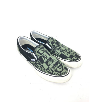 VANS/13/Low-Sneakers/GRY/Cotton/All Over Print
