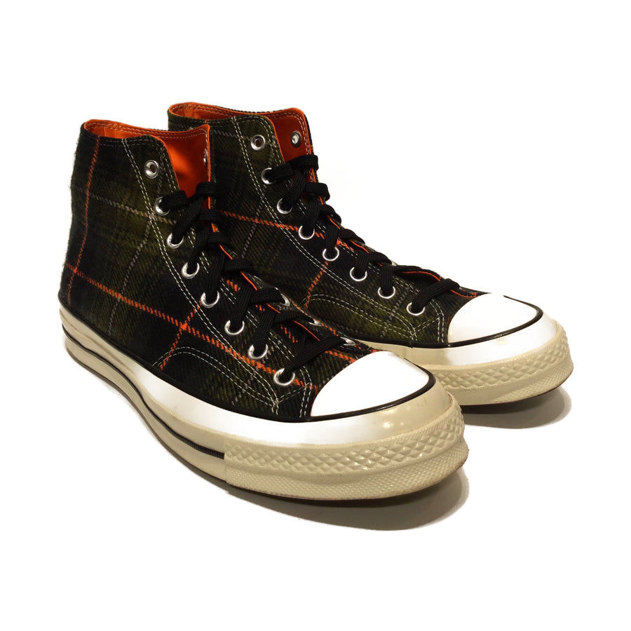 CONVERSE//Hi-Sneakers/10/MLT/Wool/Plaid