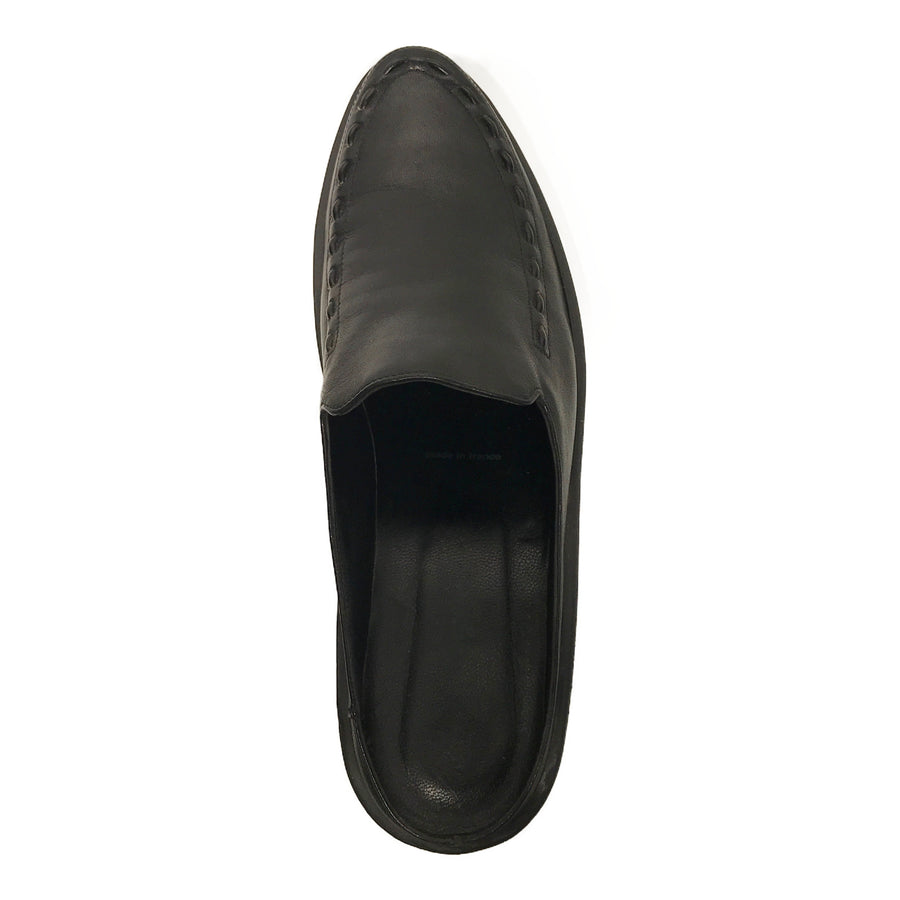 Robert Clergerie//Shoes/US7.5/BLK/Leather/Plain