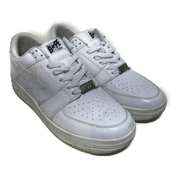 BAPE STA!//Low-Sneakers/11/WHT/Others/Plain