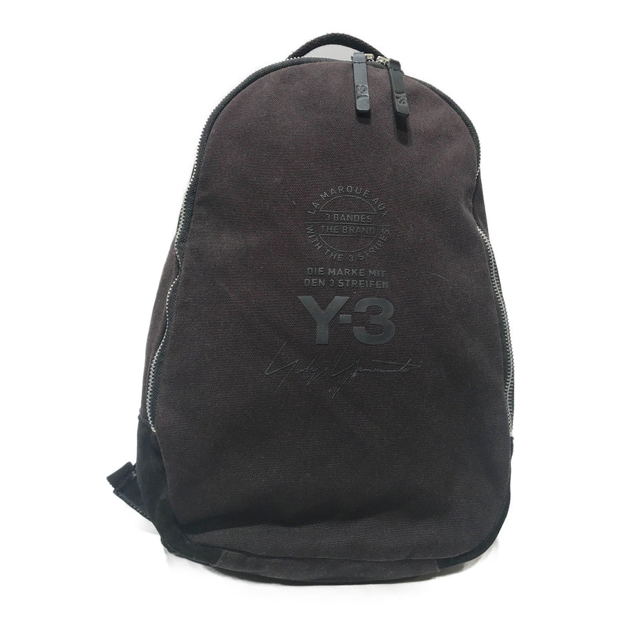Y-3/Backpack/Canvas/BLK