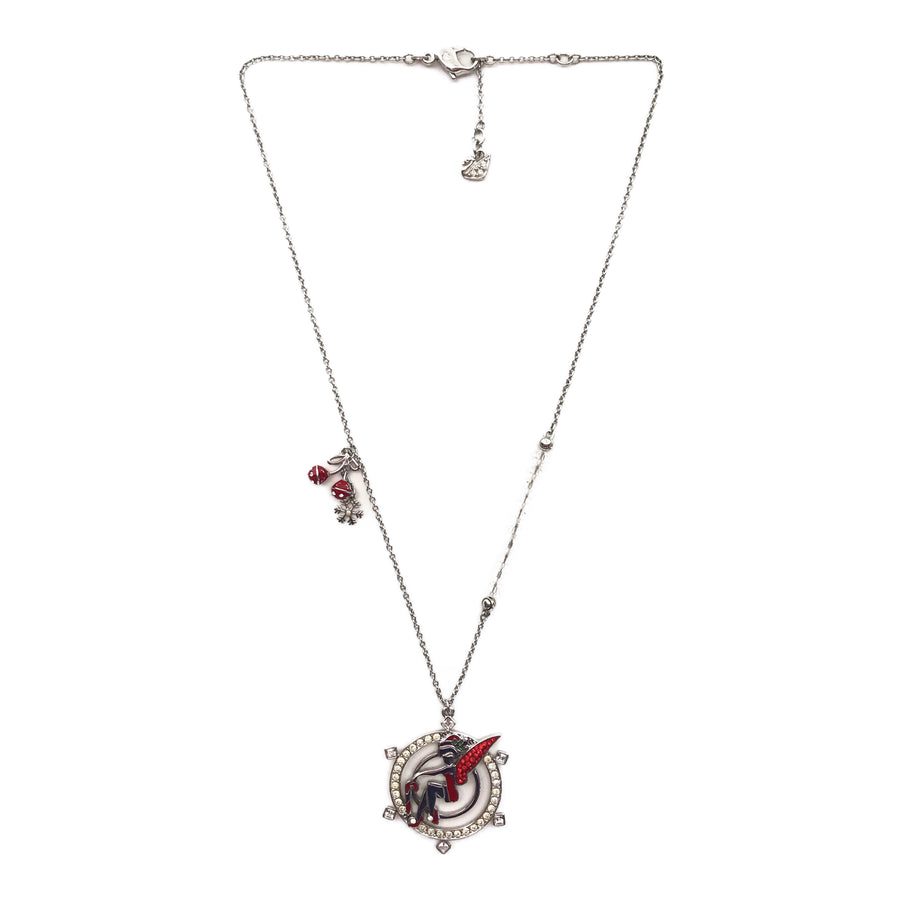 Swarovski//Necklace//RED/Others/Plain
