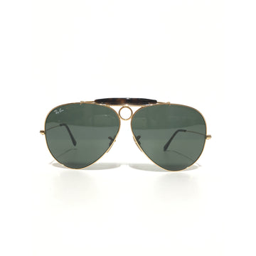 Ray-Ban//Sunglasses/BLK/Titanium/Plain