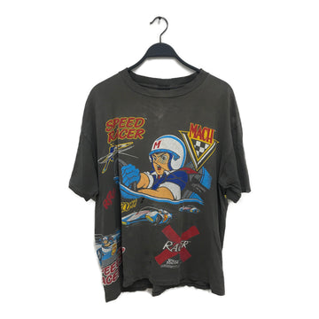 Vintage/SPEED RACER/T-Shirt/XL/GRY/Cotton/Graphic