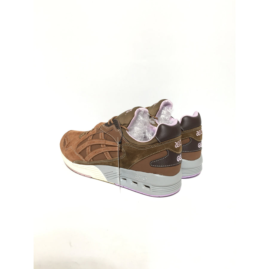 ASICS/US11/Low-Sneakers/BRW/Leather/Plain