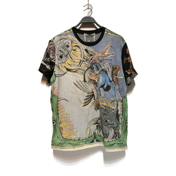 GIVENCHY//T-Shirt/S/MLT/Cotton/All Over Print
