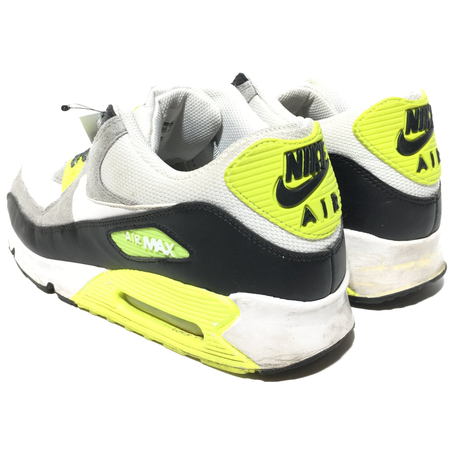 NIKE/Nike Air Max 90 White Volt (2012)/US10.5/Low-Sneakers/WHT/Cotton/Plain