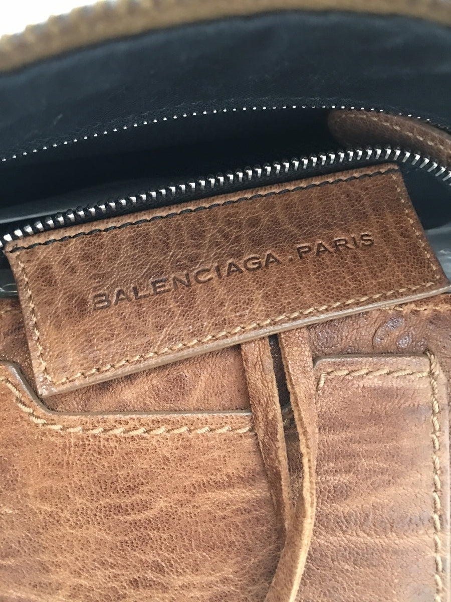 BALENCIAGA/Bag/Leather/BRW