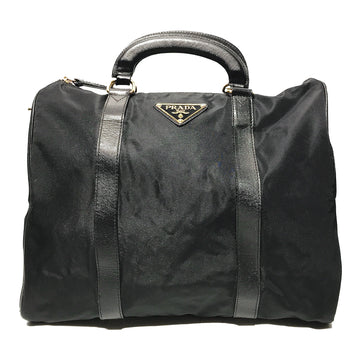 PRADA/TOTE/Hand Bag//BLK/Nylon/Plain