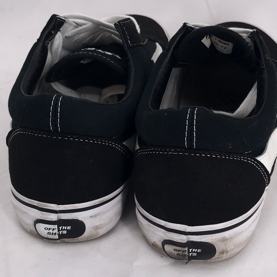REVENGE X STORM/Low-Sneakers/US12/BLK/Cotton/Plain