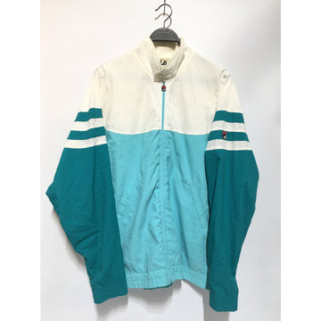 FILA/42/Fleece Jkt/BLU/Nylon/Stripe