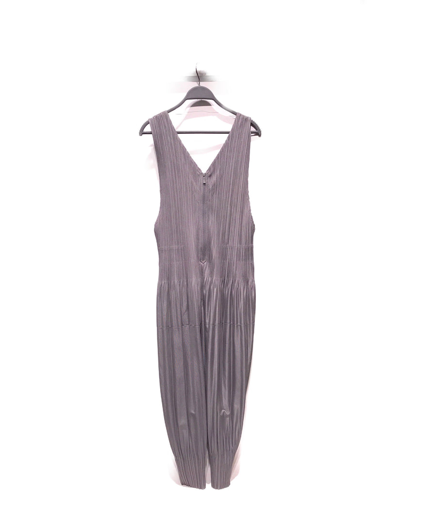 PLEATS PLEASE ISSEY MIYAKE/Jumpsuits/2/Polyester/GRY