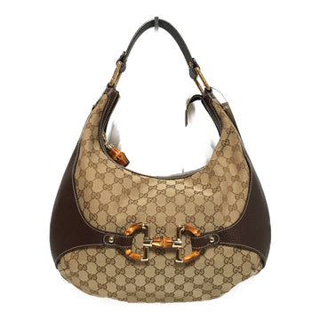 GUCCI/MONOGRAM CANVAS/Hand Bag//BRW/Others/Monogram