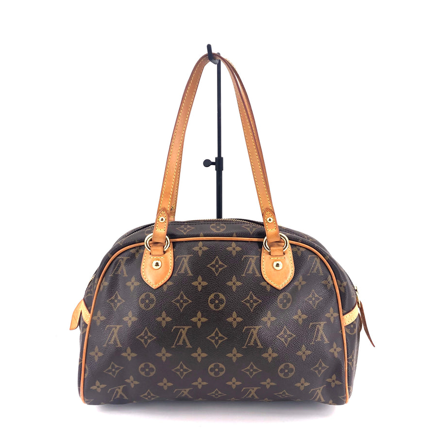 LOUIS VUITTON/Hand Bag/Montorgueil PM/Monogram/BRW/M95565