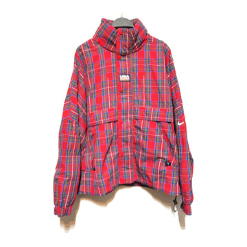 NIKE//Blouson/L/RED/Nylon/Plaid