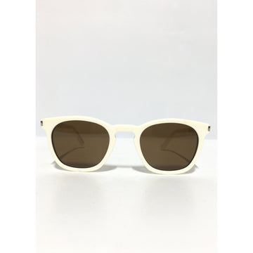 SAINT LAURENT/./Sunglasses/WHT/Plastic/Plain