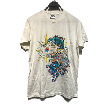 BILLIONAIRE BOYS CLUB/MURAKAMI/T-Shirt/M/WHT/Cotton/Graphic
