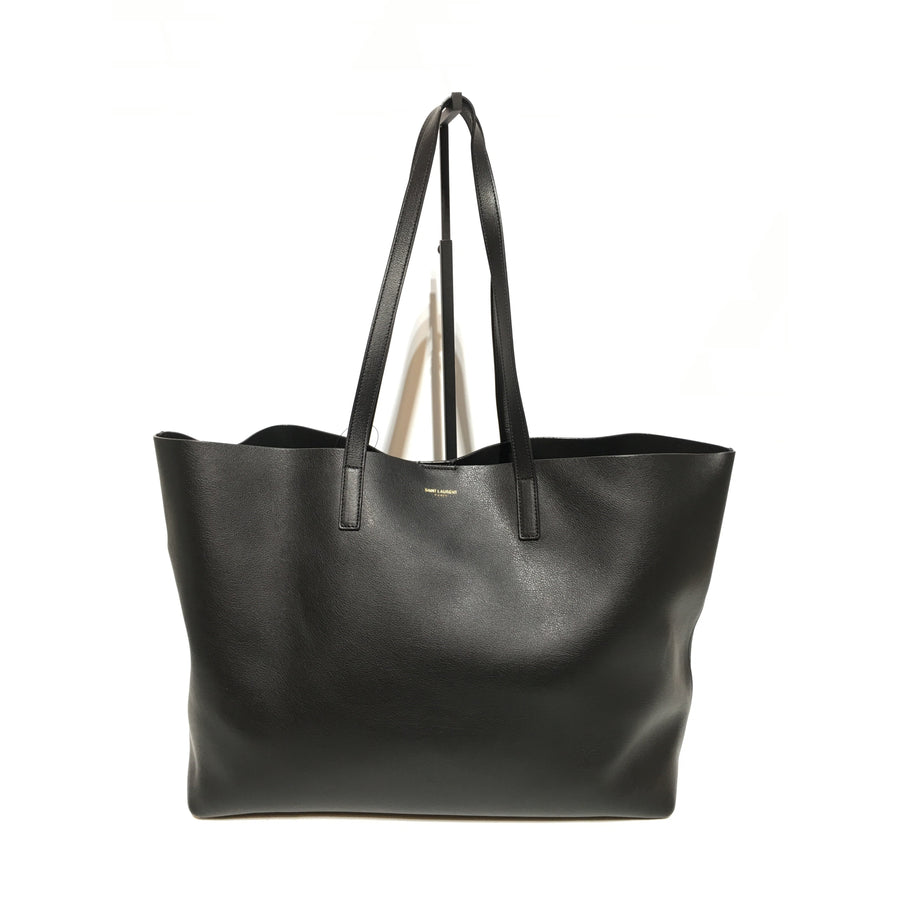SAINT LAURENT/BLK/Leather/Tote Bag