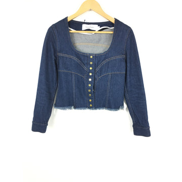 MARQUES ALMEIDA/S/Blouse/IDG/Denim/Plain