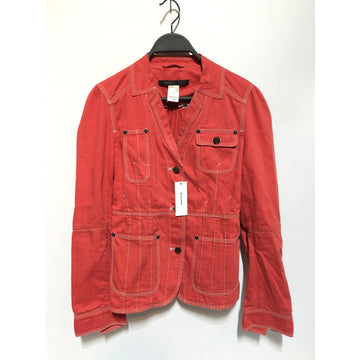 MARC JACOBS/6/Denim Jkt/RED/Cotton/Plain