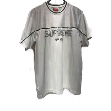 Supreme//T-Shirt/XL/WHT/Polyester/Graphic