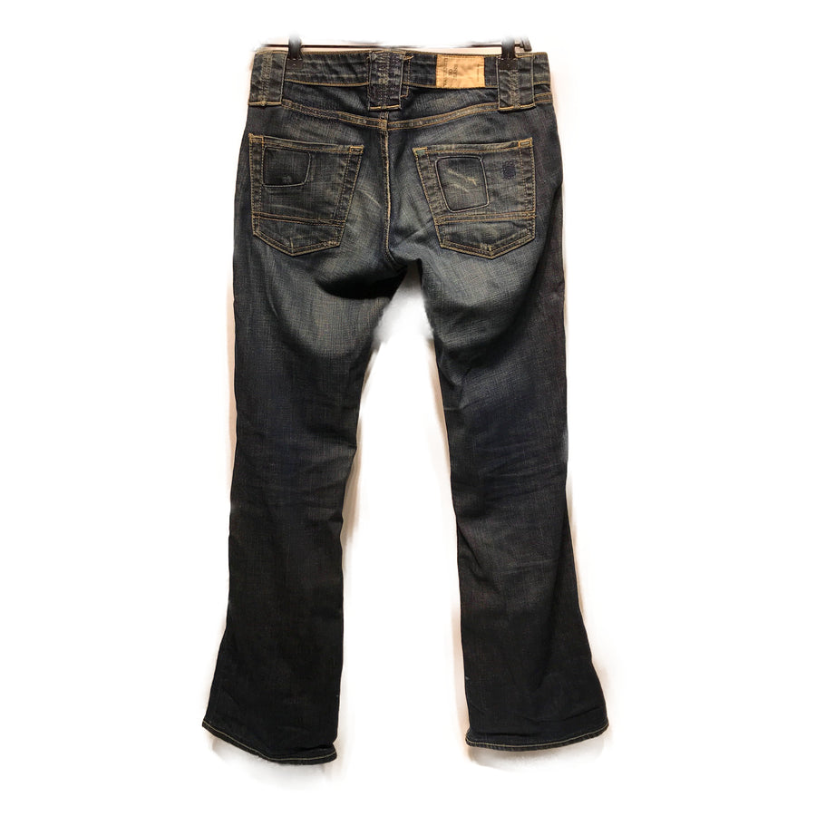 TAVERNITI SO JEANS//Bottoms/W28/IDG/Denim/Plain