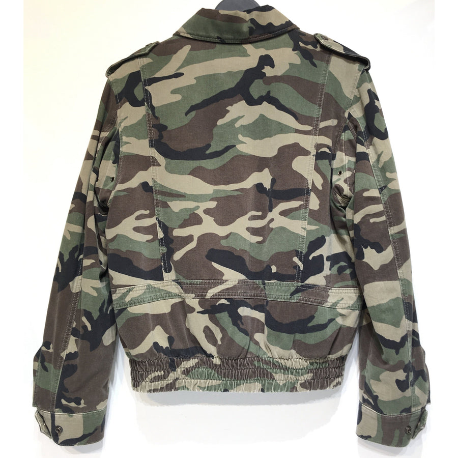 SAINT LAURENT/M/Jacket/MLT/Others/Camouflage