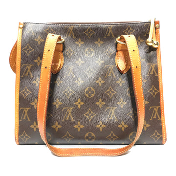 LOUIS VUITTON/LOUIS VUITTON HANDBAG/Hand Bag//BRW/Leather/All Over Print