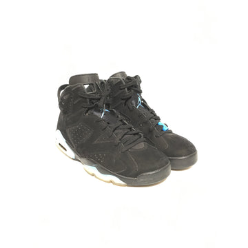 Jordan/10.5/Shoes/BLK/Leather/Plain