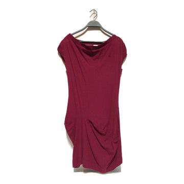Vivienne Westwood RED LABEL//Tunic Dress/M/BRD/Cotton/Plain