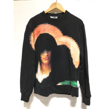 GIVENCHY/M/Sweater/BLK/Cotton/Graphic