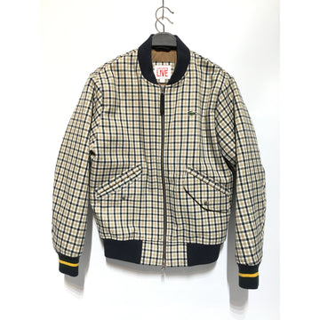 LACOSTE/S/Jacket/MLT/Cotton/Plaid