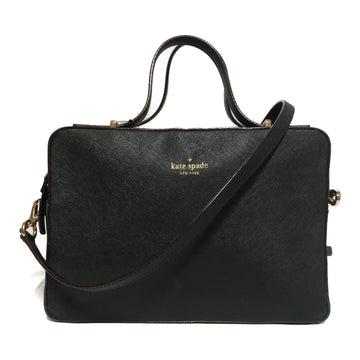 kate spade new york//Cross Body Bag//BLK/Leather/Plain
