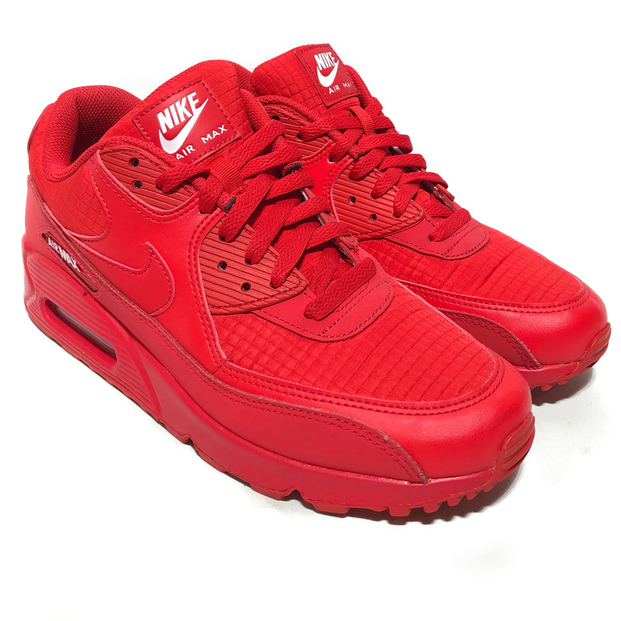 NIKE/AIR MAX 90 ESSENTIAL UNIVERSIT RED/Low-Sneakers/8.5/RED/Others/Border