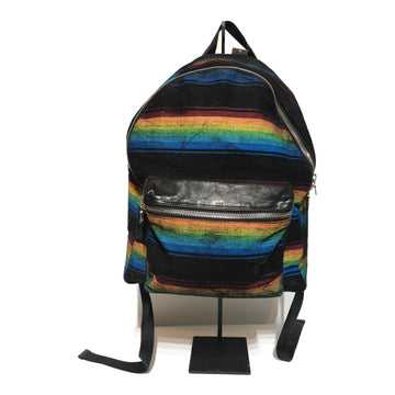 AMIRI/STRIPED BACKPACK /Backpack/./MLT/Others/Stripe