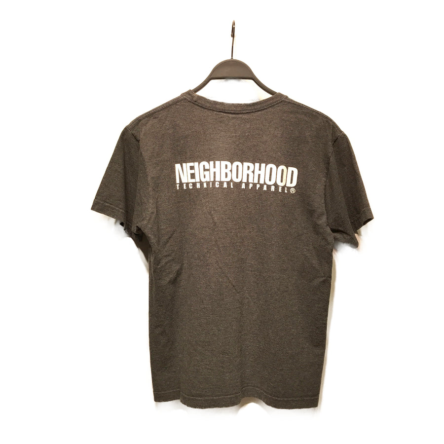 NEIGHBORHOOD//T-Shirt/M/GRY/Cotton/Graphic