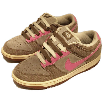 NIKE/NIKE DUNK 6.0/Low-Sneakers/US7.5/GRY/Cotton/Plaid
