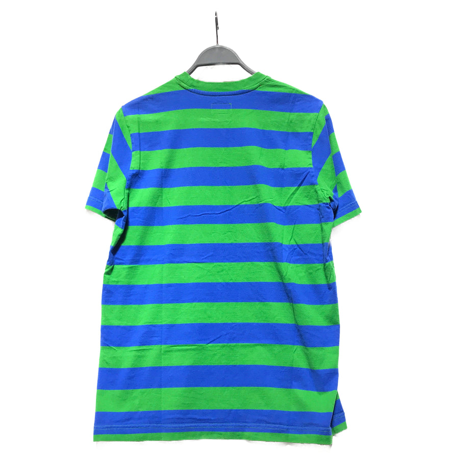 Supreme/BLUE AND GREEN/T-Shirt/M/MLT/Cotton/Stripe