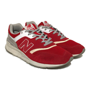 NEW BALANCE/997H/Low-Sneakers/10/RED/Others/Plain