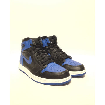 Jordan/10/Hi-Sneakers/BLU/Leather/Plain
