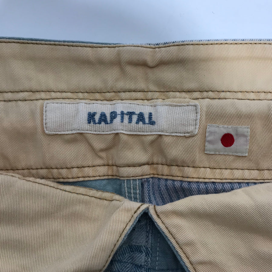 KAPITAL//Shorts/3/BLU/Others/All Over Print