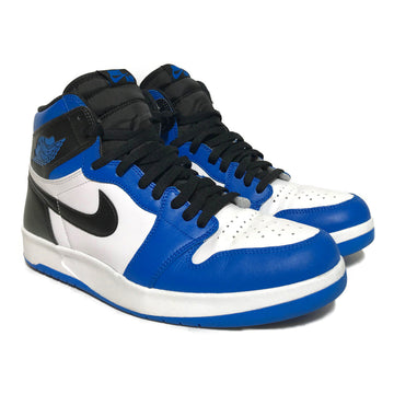 Jordan/AJ1 HIGH THE RETURN/Hi-Sneakers/11.5/BLU/Leather/Plain