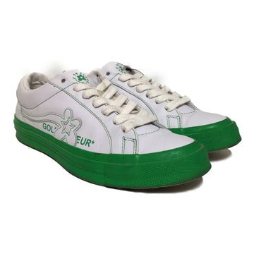 GOLF WANG/LE FLEUR/Low-Sneakers/8/GRN/Leather/Graphic