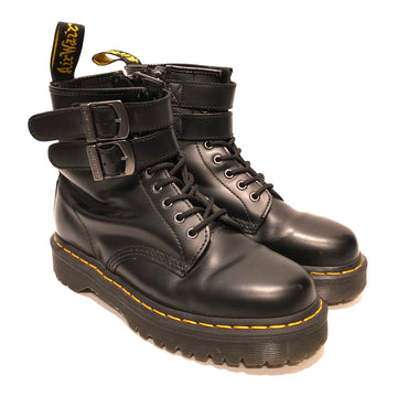 Dr.MARTENS//Lace Up Boots/8/BLK/Leather/Plain
