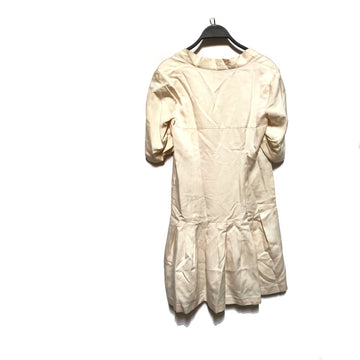 MIU MIU//Tunic Dress/38/IVR/Silk/Plain