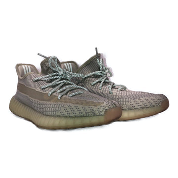 YEEZY/LUNDMA/Low-Sneakers/10.5/GRY/Cotton/Plain