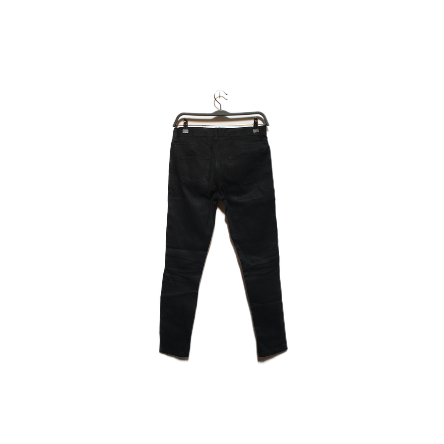 SAINT LAURENT//Bottoms/26/BLK/Cotton/Plain