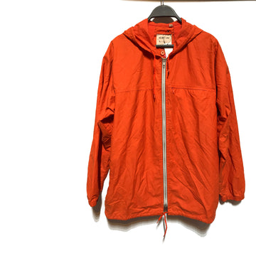 Helmut Lang/ORANGE /Windbreaker/./ORN/Polyester/Plain
