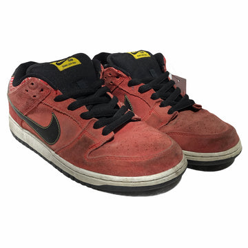 NIKE/DUNK LOW/Low-Sneakers/US11/ORN/Suede/Plain